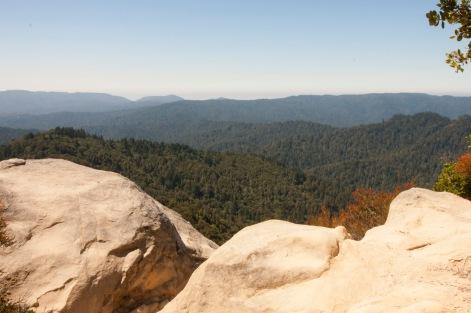Castle Rock-vista rock foreground
