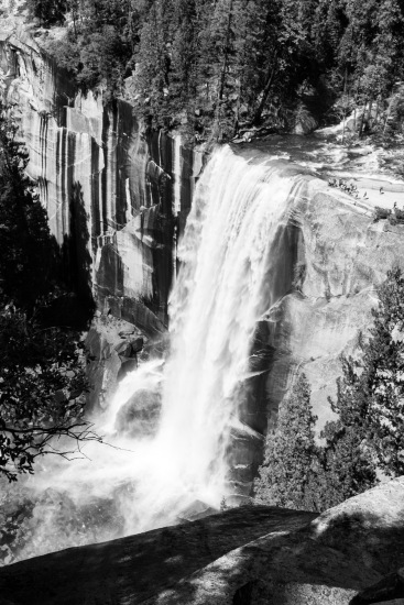 Vernal Falls with Ants